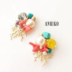 """沢山の作品の中ANRIKOのアクセサリーに興味を持っていただきありがとうございます!ANRIKOアクセサリーは、""""横顔美人""""をコンセプトに作品作りをしています。皆さんの""""キレイ"""" """"可愛い"""" """"かっこいい""""のお手伝いができればとても嬉しいです!昨年は、夏..."""