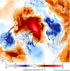 This latest temperature spike is another striking indicator of the Arctic's rapidly changing climate.