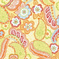 fresh as a daisy. fiesta by Paisley Patch Designs Fabric Choices, via Flickr