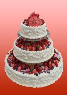 Wedding cake 3layer