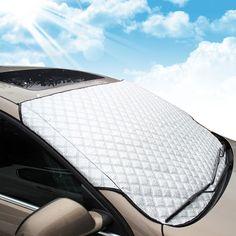 Amazon.fr : MATCC Couverture Pare-brise de Voiture et Pare-soleil Compatible avec La Plupart des Véhicule Universel Vans Monospace