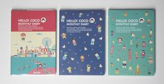 Ardium Hello Coco Monthly Diary 2015 dated cute kawaii stationery journal