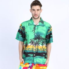 Hawaiian 2017 Summer Brand New Men Short Sleeve Casual Shirt Men's Beach Hawaii Shirts Men Floral Clothes Asia Size 5XL ST30  #L09582 #handbags #backpack #bag #fashion #kids #highschool #YLEY #bagshop #Happy4Sales #shoulderbags #WomenWallets  #NewArrivals