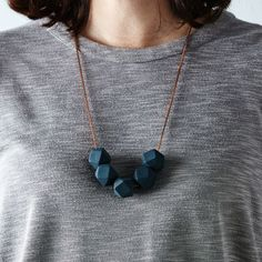 Slate Delta Necklace