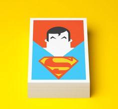 Superheroes reimagined in postcard portraits | Illustration | Creative Bloq