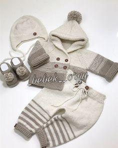 Baby Boy Knitting Patterns, Baby Cardigan Knitting Pattern, Crochet Flower Patterns, Crochet Flowers, Filet Crochet Charts, Knit Baby Sweaters, Brazilian Embroidery, Mantel, Crochet Baby