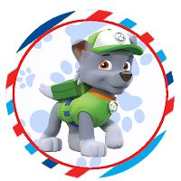 Topper, Paw Patrol, Smurfs, 1, Fictional Characters, Kids Part, Personalized Candy, Mug, Parties