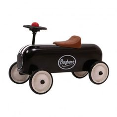 retro olschool kids car bobbycar