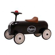 retro olschool kids car bobbycar