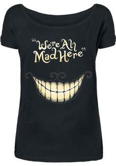Mad Mouth - T-Shirt Manches courtes par Alice In Wonderland