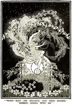 Art by Dugald Stewart Walker (1920) from DREAMBOATS AND OTHER STORIES.