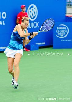 Lucie Safarova @ Rogers Cup 2012 © Piero Lopane