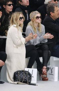 The Olsen twins on the front row http://www.hiphunters.com/