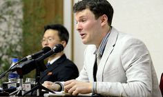 Otto Warmbier, a University of Virginia undergraduate student, was convicted and sentenced in a one-hour trial in North Korea to 15 years in prison with hard labor on Wednesday. Donald Trump, Nuclear Test, University Of Virginia, 15 Years, South Korea, Cincinnati, Prison, Death, American