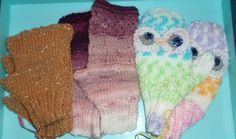 One Pair of  OWL MITTENS and 2 pairs of by FASHIONABLEINFANT