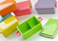 Gel Cool Medium Bento Box (Freezeable Lid) - Trendy Lil Treats