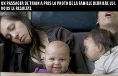 Famille qui dort
