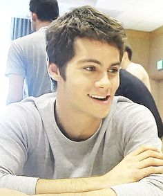 Dylan O'Brien...he's so cute. And that mouth thing WOOOOO
