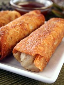 How to make Homemade Chinese Egg Rolls | Egg Rolls Recipe