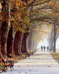 The City Park in Skopje, Macedonia