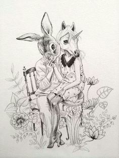the rabbit and the unicorn