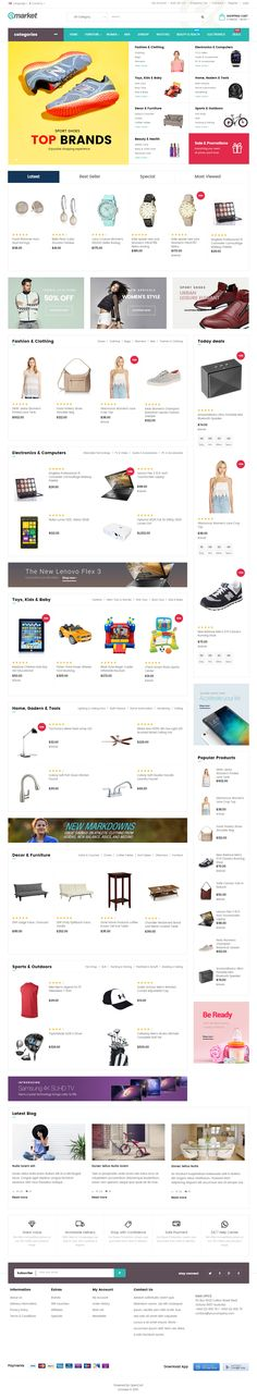 105 best OpenCart Responsive Themes images on Pinterest
