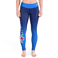 Winnipeg Jets Womens Official NHL Gradient Print Leggings Nhl Jerseys, Dallas Mavericks, Printed Leggings, Sport Outfits, Nba, Skinny Jeans, Sports Apparel, Sweaters, Pants