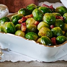 Maple bacon brussels