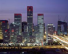 English: Beijing CBD 2008-6-9 Jianwai SOHO, Yi...