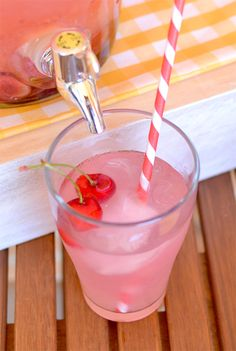 Cherry lemonade - Limonada de cereza