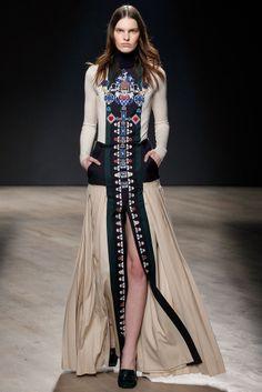 Mary Katrantzou - London Fashion Week - Otoño Invierno 2014/2015 - Fashion Runway