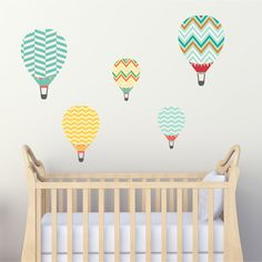 2 balloons height Χ width - 1 balloon height Χ width - 2 balloons height Χ width. Each sticker can be placed as you wish on your wall Balloon Wall, Hot Air Balloon, Balloons, Kids Room Wall Stickers, Kidsroom, Wall Art, Prints, Nursery Ideas, Decoration