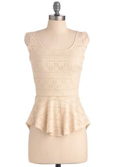 Fro-Yo Consideration Top; oh my god. i NEEEEEEEDDDD this so much. this is probably one of the cutest tops i've seen in my life. with yellow shorts for summer?! uhm TOTES!