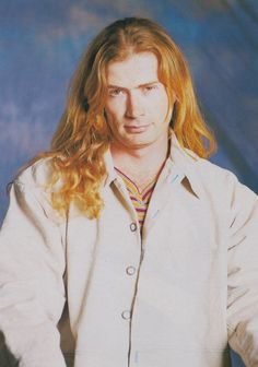 Dave Mustaine (Jun/1997/Burrn!) Davey Wavey, Nick Menza, Marty Friedman, David Ellefson, Dave Mustaine, Dimebag Darrell, Famous Musicians, The Big Four, Heavy Metal Bands