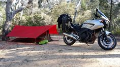 Click this image to show the full-size version. Tarp Shelters, 10 Essentials, Image