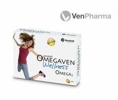 El aporte necesario de ácidos grasos Omega 3 que tu cuerpo necesita te lo da Omegaven Wellness de VenPharma $11.00€