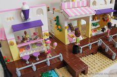 Ice-cream Shop - MOC - LEGO Friends Our Generation Doll Clothes, Modele Lego, Amazing Lego Creations, Lego Boards, Lego Craft, Lego Room, Lego Architecture, Lego House, Lego Projects