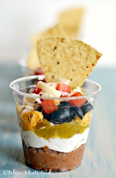 Individual Sized 7-Layer Mexi-Dip