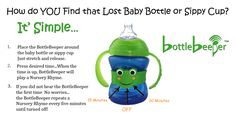 Still looking for that lost baby bottle or sippy cup???