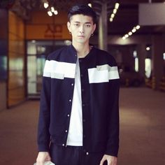 Geometric jacket for men cool black bomber jacket XL Printed Bomber Jacket, Black Bomber Jacket, Casual Outfits, Cool Stuff, Jackets, Men, Clothes, Fashion, Down Jackets