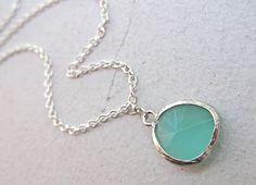 BESTSELLER  Buffed Ocean Blue Seaglass Charm by HawaiiChicJewelry, $37.00