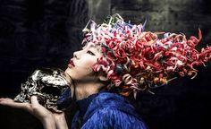www.Dong-Feng.asia  ( Cartoon )  Hair by @Ritz Lam & @Jim Tse @atenstudio  Make up : Hiroto Kuwahara & AhYu Pak  Costume : Kaori Tanaka   Photography : Tao Ma  Copyright {東風} Dōng Fēng Creative team