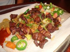 Ever tried Ethiopian food? Perfect #dateidea