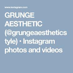 GRUNGE AESTHETIC (@grungeaestheticstyle) • Instagram photos and videos