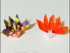 折り紙 「祝い鶴」 Origami Crane - YouTube