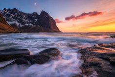 The Coast of Kvalvika by Daniel F. on 500px