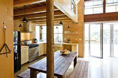 Chalk Hill Off-Grid Cabin kitchen - eclectic - kitchen - sacramento - by Arkin Tilt Architects