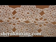 How To Crochet Flower Motif Granny Square And How To Join Tutorial Pattern Joining Crochet Motifs, Crochet Symbols, Vintage Crochet Patterns, Crochet Square Patterns, Crochet Cross, Irish Crochet, Free Crochet, Knit Crochet, Crochet Round