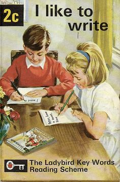 A Vintage Ladybird Book from the Key Words Reading Scheme featuring Peter and Jane Funny Books For Kids, Funny Kids, Inappropriate Memes, Funny Memes, Hilarious, Ladybird Books, Up Book, Twisted Humor, Vintage Books