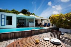Cozy-chic Villa Bamboo in St. Barts is offering a nice summer special right now via Airbnb!